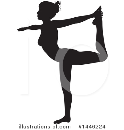 Yoga Clipart #1446224 by AtStockIllustration
