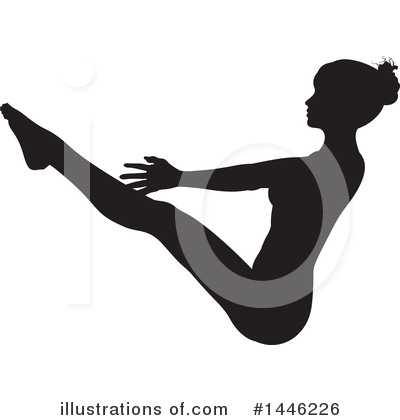Yoga Clipart #1446226 by AtStockIllustration