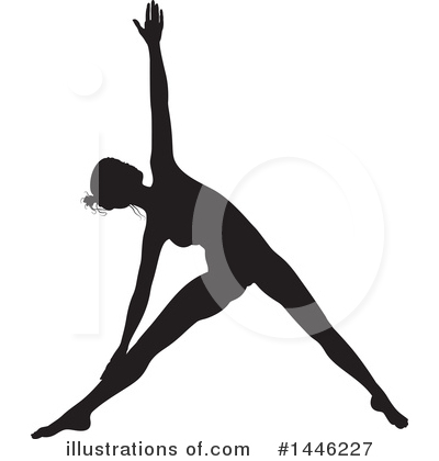 Yoga Clipart #1446227 by AtStockIllustration