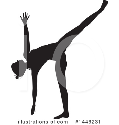 Yoga Clipart #1446231 by AtStockIllustration