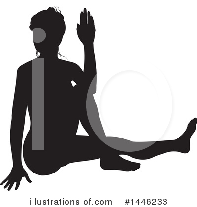 Yoga Clipart #1446233 by AtStockIllustration