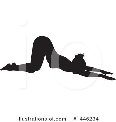 Yoga Clipart #1446234 by AtStockIllustration