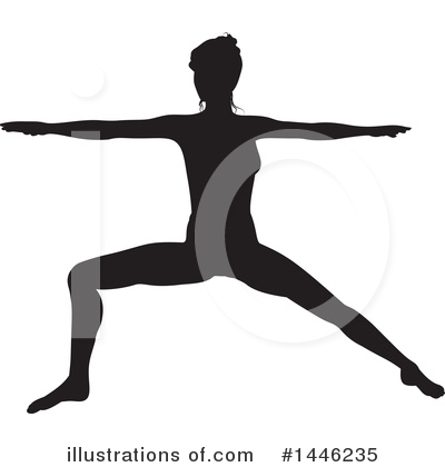 Yoga Clipart #1446235 by AtStockIllustration