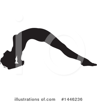 Yoga Clipart #1446236 by AtStockIllustration