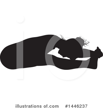Yoga Clipart #1446237 by AtStockIllustration