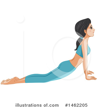 Yoga Clipart #1462205 by Graphics RF