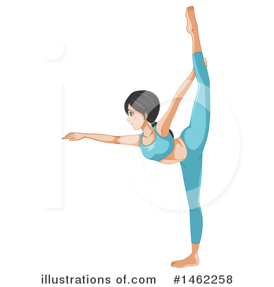 Yoga Clipart #1462258 by Graphics RF
