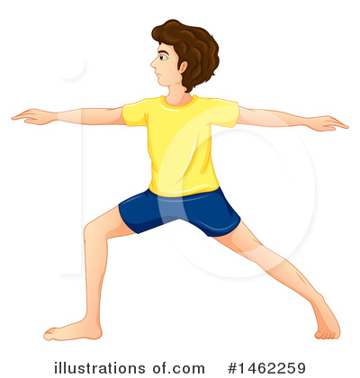 Yoga Clipart #1462259 by Graphics RF
