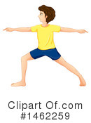 Royalty-Free (RF) Yoga Clipart Illustration #1462259