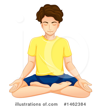 Yoga Clipart #1462384 by Graphics RF