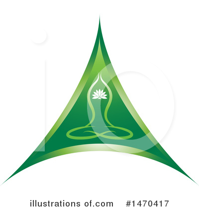 Meditating Clipart #1470417 by Lal Perera