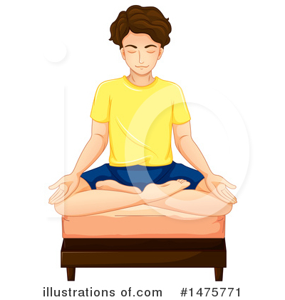 Yoga Clipart #1475771 by Graphics RF