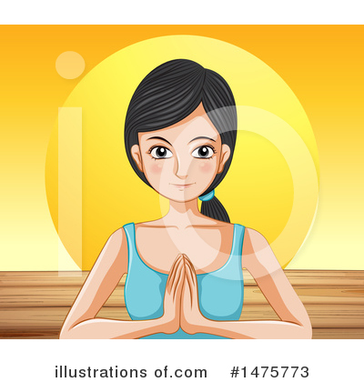 Yoga Clipart #1475773 by Graphics RF