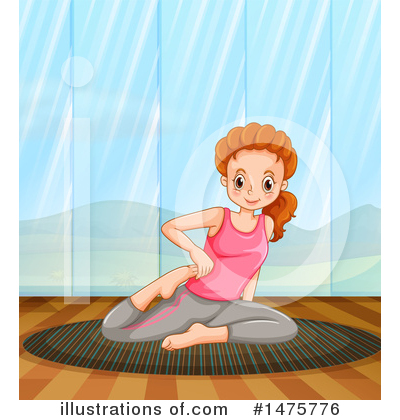 Yoga Clipart #1475776 by Graphics RF