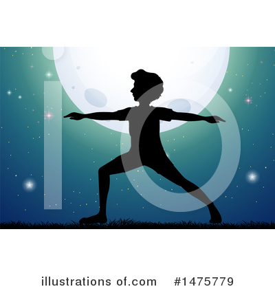 Yoga Clipart #1475779 by Graphics RF