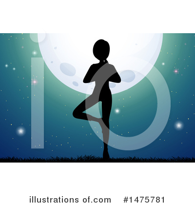 Yoga Clipart #1475781 by Graphics RF