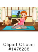 Yoga Clipart #1476288 by Graphics RF