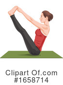 Yoga Clipart #1658714 by Morphart Creations
