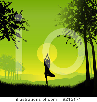 Yoga Clipart #215171 by KJ Pargeter