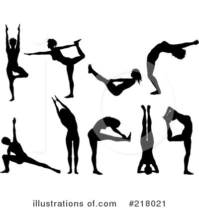 Yoga Clipart #218021 by KJ Pargeter