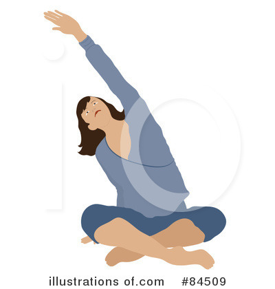 Royalty-Free (RF) Yoga Clipart Illustration by Pams Clipart - Stock Sample #84509
