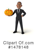 Young Black Business Man Clipart #1478148 by Julos