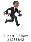 Young Black Businessman Clipart #1288842 by Julos