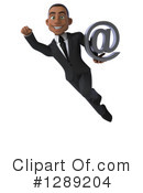 Young Black Businessman Clipart #1289204 by Julos