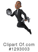 Young Black Businessman Clipart #1293003 by Julos
