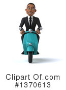 Young Black Businessman Clipart #1370613 by Julos