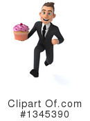 Young White Business Man Clipart #1345390 by Julos