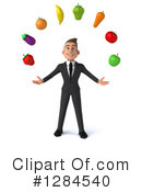 Young White Businessman Clipart #1284540 by Julos
