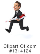 Young White Businessman Clipart #1314124 by Julos