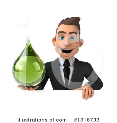 Royalty-Free (RF) Young White Businessman Clipart Illustration by Julos - Stock Sample #1316793