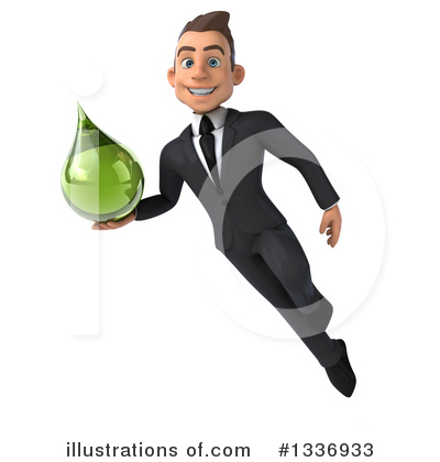 Royalty-Free (RF) Young White Businessman Clipart Illustration by Julos - Stock Sample #1336933