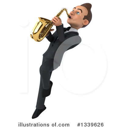 Royalty-Free (RF) Young White Businessman Clipart Illustration by Julos - Stock Sample #1339626