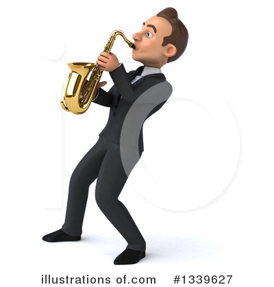 Royalty-Free (RF) Young White Businessman Clipart Illustration by Julos - Stock Sample #1339627