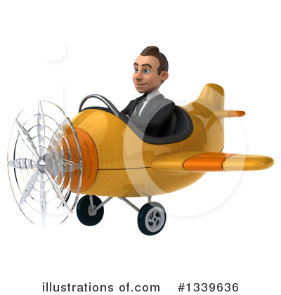 Royalty-Free (RF) Young White Businessman Clipart Illustration by Julos - Stock Sample #1339636