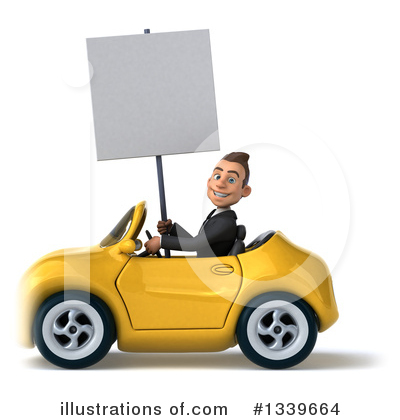 Royalty-Free (RF) Young White Businessman Clipart Illustration by Julos - Stock Sample #1339664