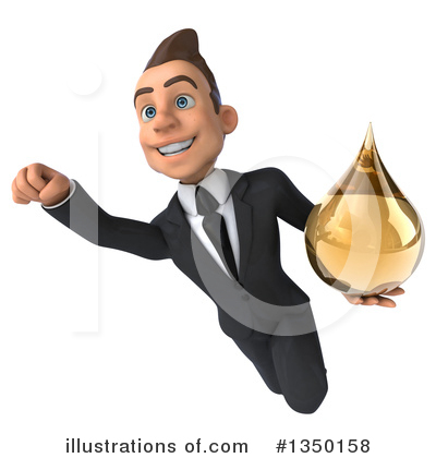 Royalty-Free (RF) Young White Businessman Clipart Illustration by Julos - Stock Sample #1350158