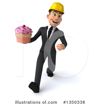 White Male Architect Clipart #1350338 by Julos