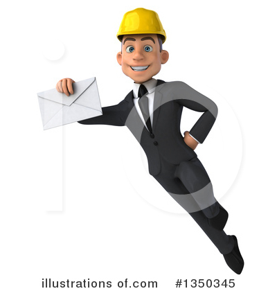White Male Architect Clipart #1350345 by Julos
