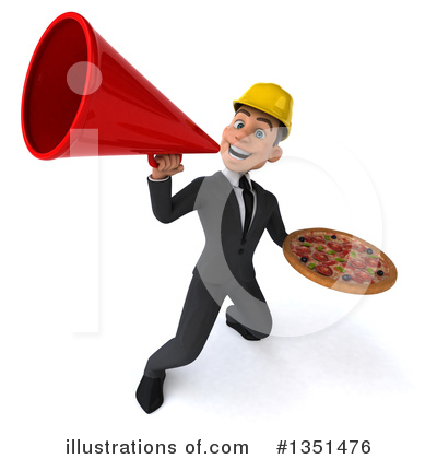 White Male Architect Clipart #1351476 by Julos