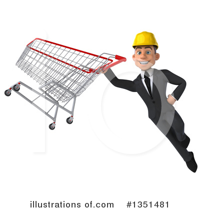White Male Architect Clipart #1351481 by Julos