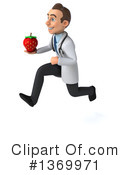 Young White Male Doctor Clipart #1369971 by Julos