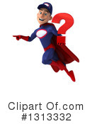 Young White Male Super Hero Mechanic Clipart #1313332 by Julos
