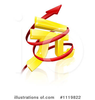 Royalty-Free (RF) Yuan Clipart Illustration by AtStockIllustration - Stock Sample #1119822