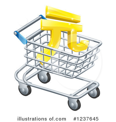 Shopping Cart Clipart #1237645 by AtStockIllustration