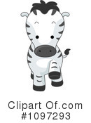 Royalty-Free (RF) zebra Clipart Illustration #1097293