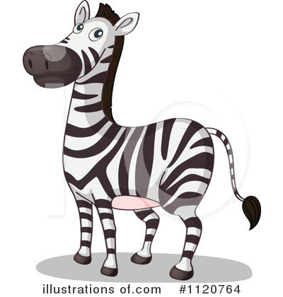 Zebra Clipart #1120764 by Graphics RF